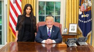Kim Kardashian dan Donald Trump