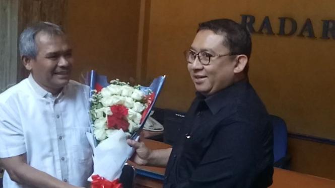 Fadli Zon sambangi kantor redaksi Radar Bogor 2794fc0744
