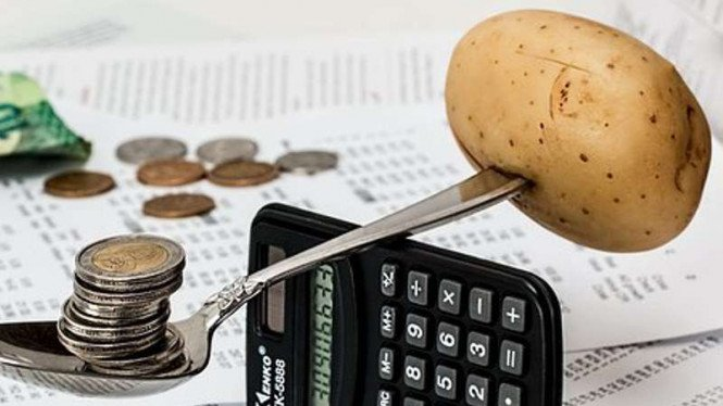 Ilustrasi keuangan.