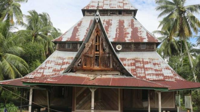 Surau Gadang Bintungan Tinggi, Padang Pariaman, Sumatera Barat