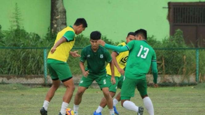 Latihan PSMS Medan.