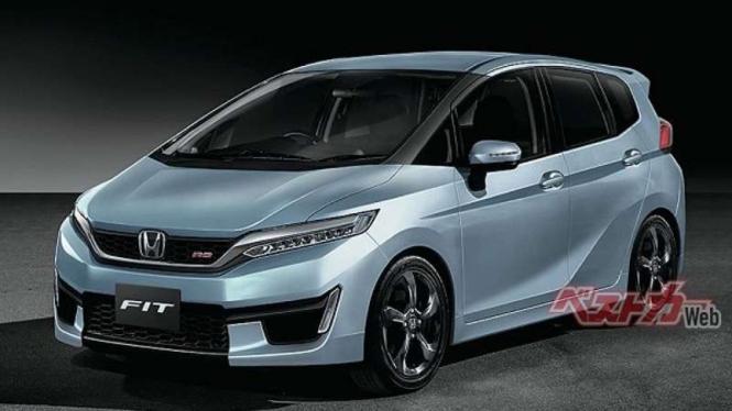 Gambar reka Honda Jazz baru
