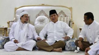Prabowo temui Habib Rizieq di Mekkah, Arab Saudi