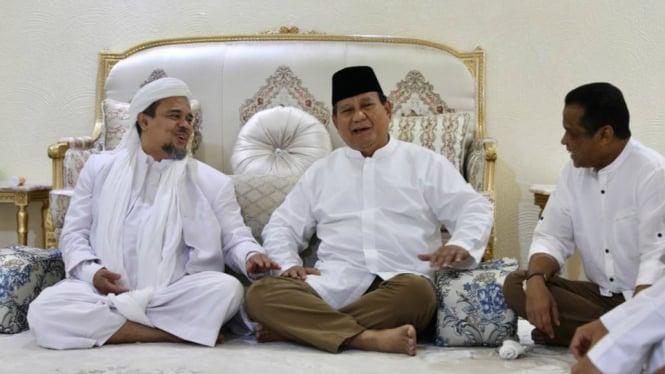 Nazar Prabowo Kalau Jadi Presiden: Jemput Pulang Habib Rizieq