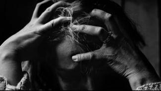 Ilustrasi stres, sakit