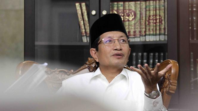 Imam Besar Masjid Istiqlal Nasaruddin Umar