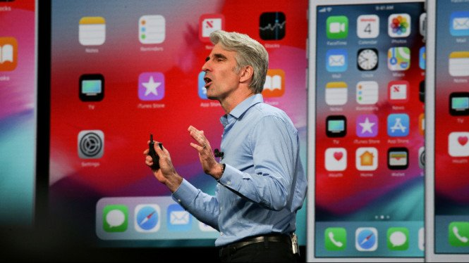 Senior Vice President of Software Engineering Apple, Craig Federighi