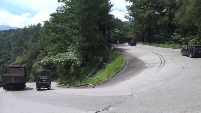 Sitinjau Lauik, rute ekstrem yang akan dilalui pemudik di Sumatera Barat