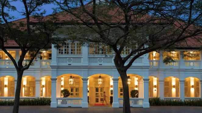 Hotel Capella, venue pertemuan Donald Trump-Kim Jong un di Pulau Resor Sentosa