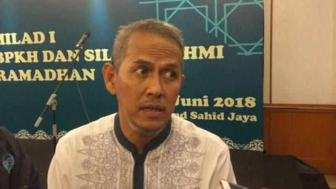 Plt. Kepala Badan Pelaksana BPKH, Anggito Abimanyu di Jakarta.