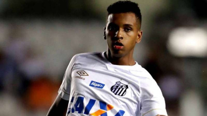 Striker muda Santos, Rodrygo Goes.