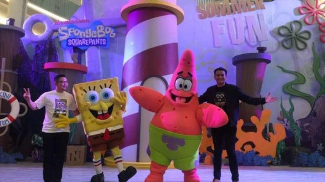 Spongebob siap beraksi