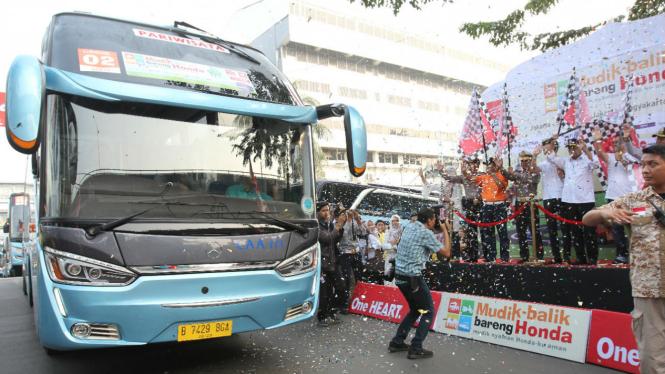 AHM melepas pemudik tujuan Jawa Tengah dan Yogyakarta
