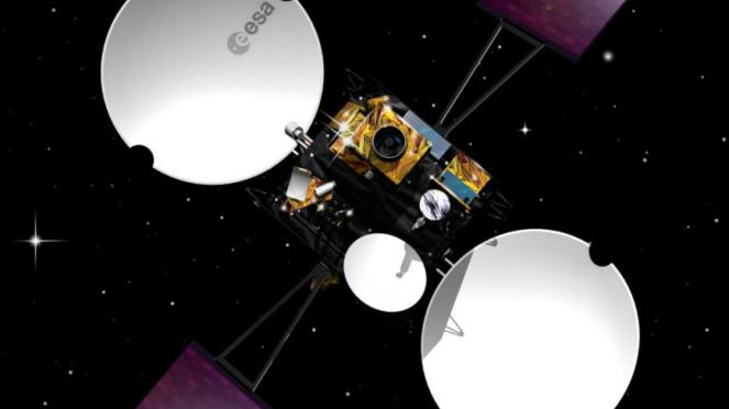 Rendering Satelit Artemis milik Avanti