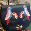 Furla Club Bird Blue
