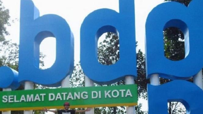 Lokasi wisata di Bandung.