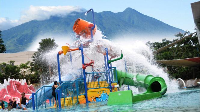 The Jungle Waterpark Bogor.