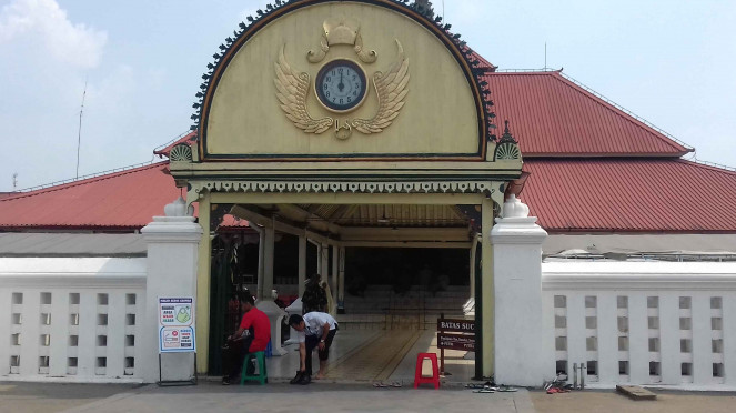 Bangunan Masjid Gedhe Kauman di Yogyakarta