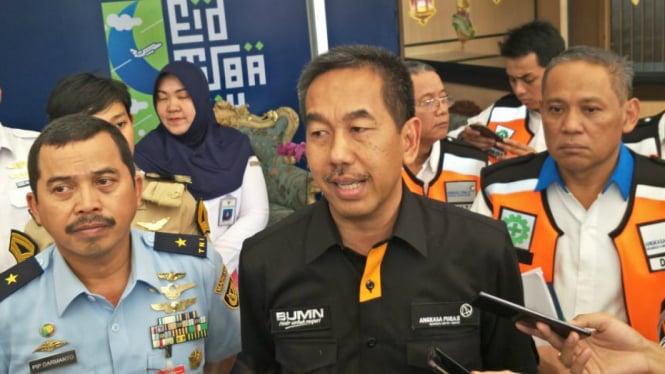 Direktur Utama PT Angkasa Pura II, M. Awaludin