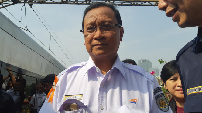 Direktur Utama PT. Kereta Api Indonesia, Edi Sukmoro