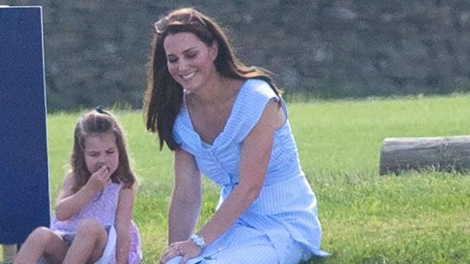 Pertanyaan Nyeleneh Gadis Kecil Ini Bikin Kate Middleton Kelabakan