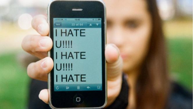 Ilustrasi cyberbullying