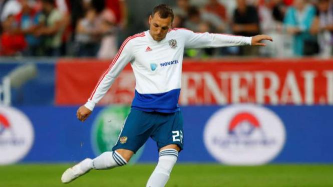 Striker Rusia, Artem Dzyuba.