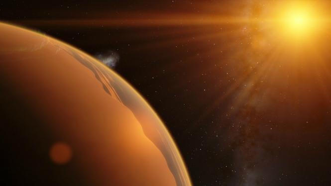 Ilustrasi exoplanet