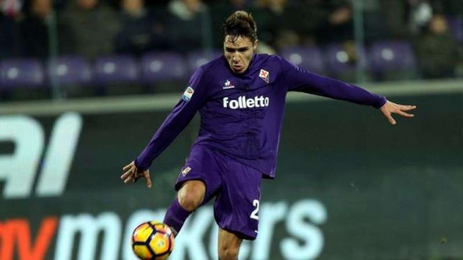 Gelandang Fiorentina, Federico Chiesa