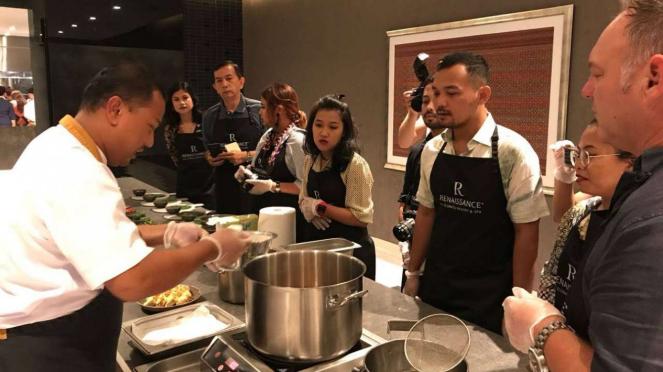 Cooking studio di Double Ikat Restaurant