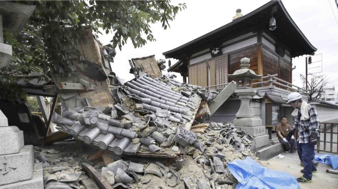 Gempa Bumi Jepang