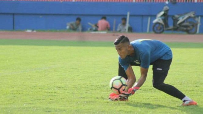 Penjaga gawang Sriwijaya FC, Teja Paku Alam