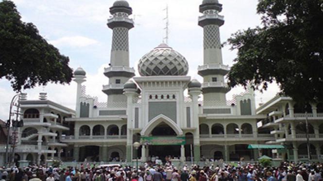 Masjid Agung Jami' Malang.