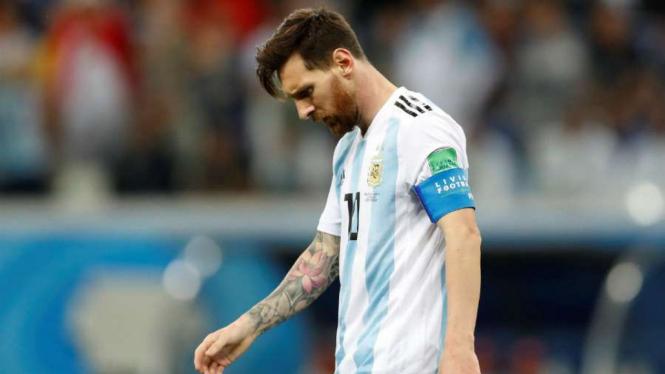 Bomber Argentina, Lionel Messi - REUTERS
