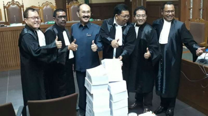 Persidangan mantan Pengacara Setya Novanto, Fredrich Yunadi
