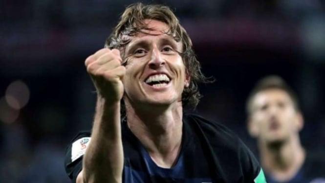 Gelandang Real Madrid, Luka Modric.