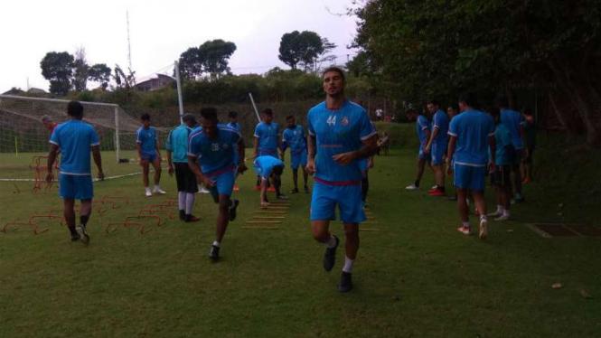 Pemusatan latihan Arema FC.