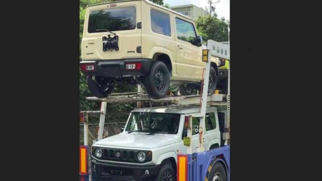 Suzuki Jimny terbaru.