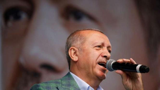 Presiden Turki Tayyip Erdogan