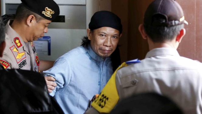 Terpidana mati kasus terorisme, Oman Rochman alias Aman Abdurrahman