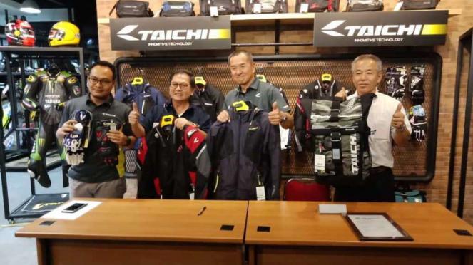 Pihak Prime Gears dan RS Taichi saat menandatangani kerja sama.
