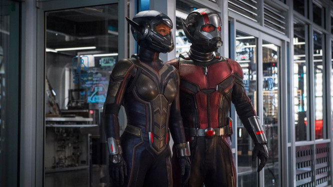 Ant-Man and The Wasp.
