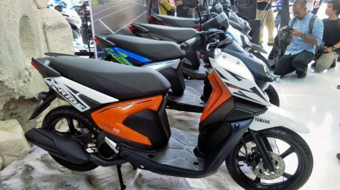 Yamaha Luncurkan X Ride Baru Viva