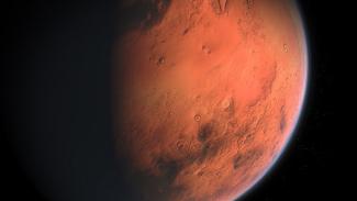 Planet Mars.