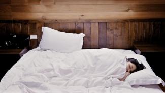 Ilustrasi tidur.