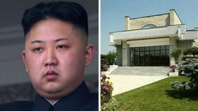 Rumah mewah Kim Jong-un.