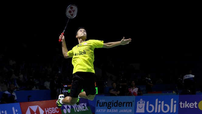 Apes, Anthony Ginting Vs Tommy Sugiarto Di Awal Indonesia Masters