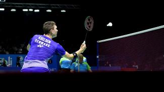 Viktor Axelsen Melaju ke Perempat Final Indonesian Open 2018
