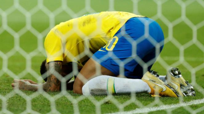 Bintang Brasil, Neymar, ungkapkan kekecewaan saat tahu kalah dari Belgia