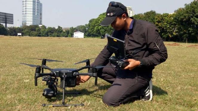 Drone DJI Matrice 210.